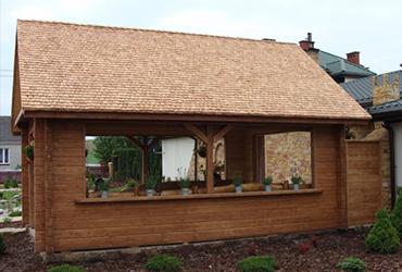 Konstrukcje ogrodowe, altany, meble
